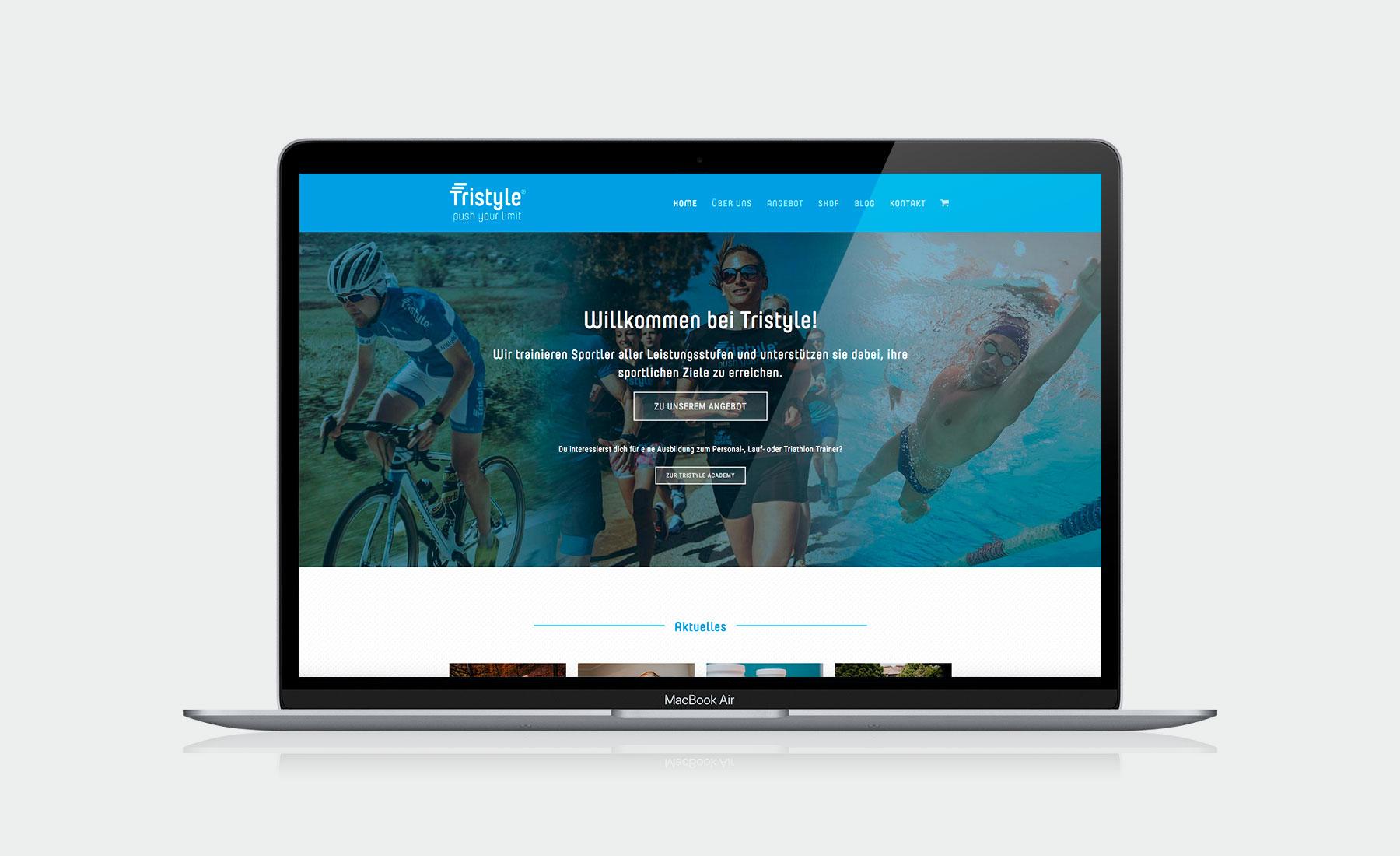 Website für Fa. Tristyle I gographics