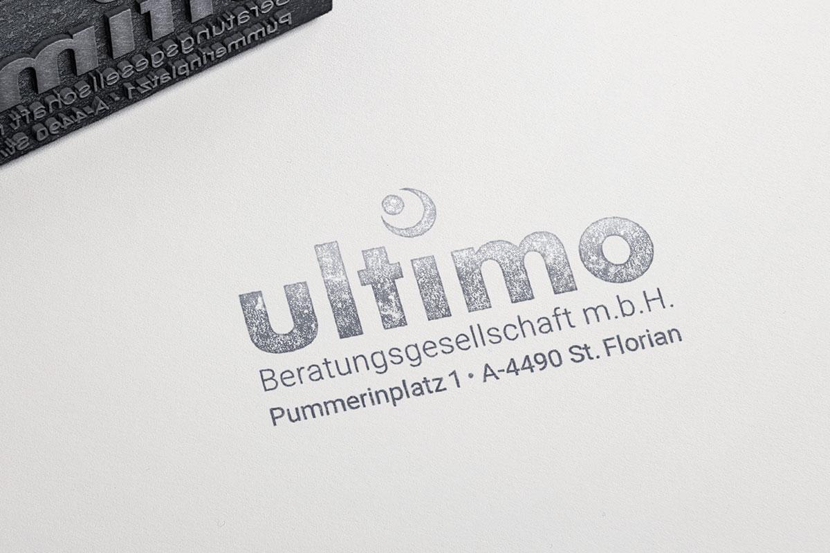 Branding für Fa. Ultimo I gographics