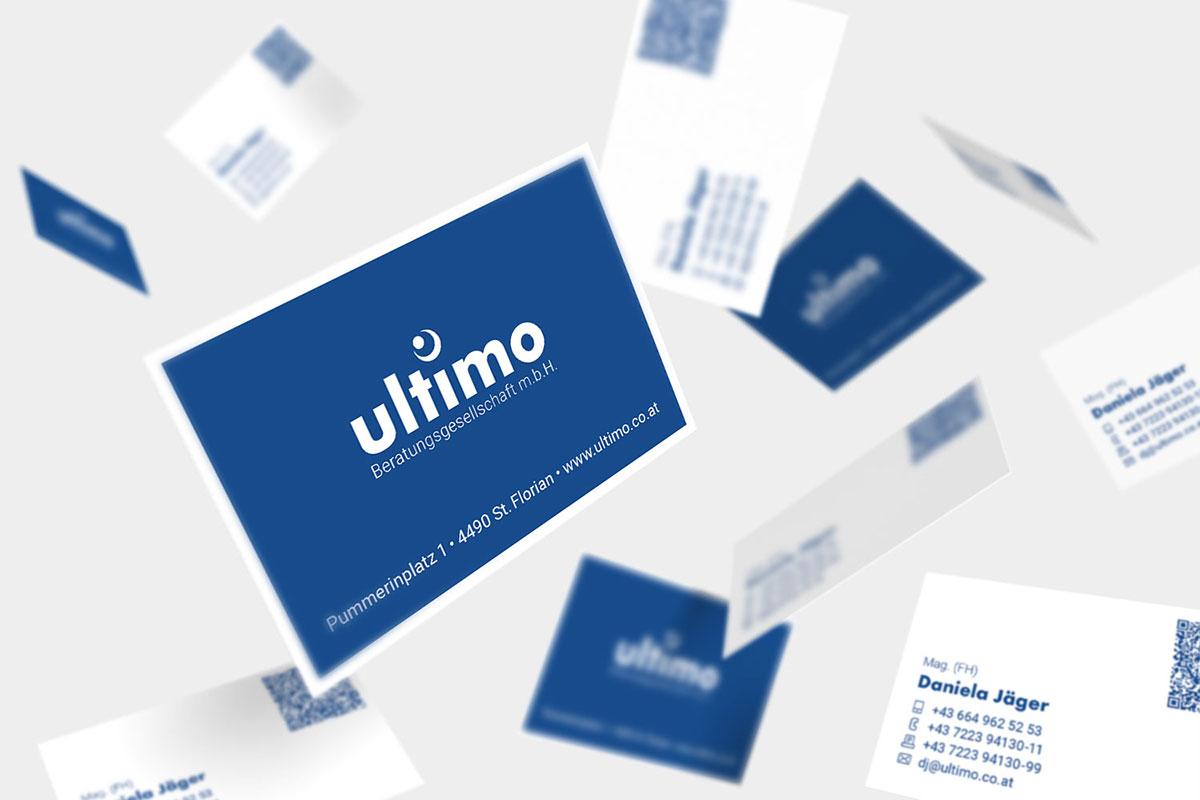 Geschäftsausstattung für Fa. Ultimo I gographics