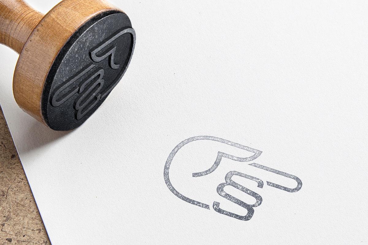 Logogestaltung für Zugang zum Recht I gographics
